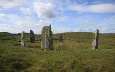 Ceann Hulavig standing stones